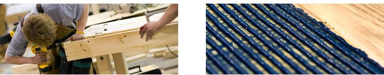 Pegamentos industriales para madera y mueble