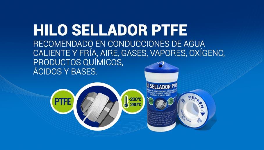 Lanzamiento nuevo producto, Hilo sellador PTFE Teflón