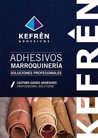Catálogo adhesivos y pegamentos industriales marroquinería
