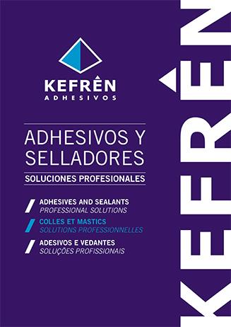 Catálogo adhesivos y pegamentos industriales Kefrén